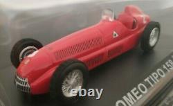 1/43 Alfa Romeo Tipo 158 F1 1950 Giuseppe Farina Coche Metal Escala