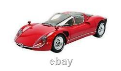 112 Premium ClassiXXs #40035 Alfa Romeo Tipo 33 Stradale Rouge 1. Edition