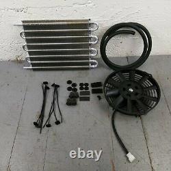 1900-27 Early Cars Transmission Oil Cooler Electric Radiator Fan Kit gm pickup