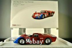1968 Alfa Romeo Tipo 33/2 race car Daytona 24 Andretti Bianchi TSM 118 Box