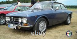 2X Specchietto Laterale Specchio Ragno Alfa Romeo 105 115 Giulia Gt Set Tondo