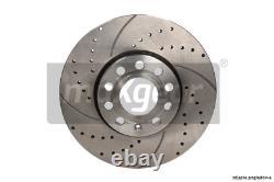 2x New Brake Disc For Alfa Romeo Fiat Opel Lancia Vauxhall 147 937 Ar 32310