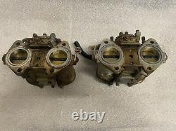 40 Weber DCOE Side Draft Carburetors Tipo 18 Lotus Cortina Elan Alfa Romeo BMW