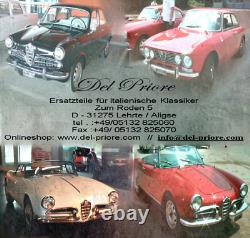 4X Originale Spica Golden Lodge 2HLDR Candele Alfa Romeo SPIDER Giulia Alfetta