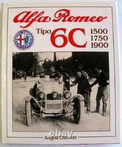 ALFA ROMEO TIPO 6C 1500 1750 1900 Angela Cherrett ISBN 0854297200 Car Book