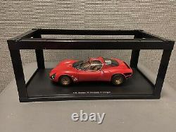AUTOART 1/18 ALFA ROMEO Tipo 33 Stradale Prototype 1967 red