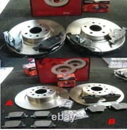 Alfa Romeo 156 1471997-2006 Mintex Brake Disc Pads Front Rear Brake Discs Pads