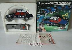 Alfa Romeo Alfetta Tipo 116 Carabinieri Polistil 1/24 Diecast Rare Remote Model