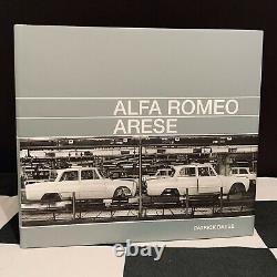 Alfa Romeo Arese Tipo 105 Book 2018 New Portello Factory Assembly Plant Giula Gt