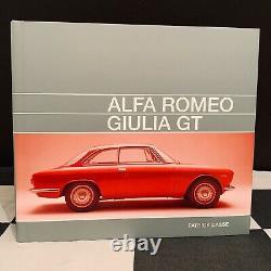 Alfa Romeo Giulia Gt Tipo 105 Book 2018 New Sprint Gt Gta Gtc Veloce Junior 1300