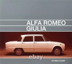 Alfa Romeo Giulia Tipo 105 (Limousine TI Super 1300 1600 S Nuova) Buch book