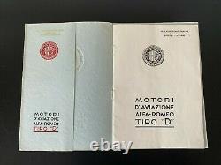 Alfa Romeo Motori D'Aviazione Tipo D Brochure 1932