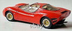 Alfa Romeo Tipo 33-2 Stradale Coupe 1967 Street rot red 143 Replicars 104