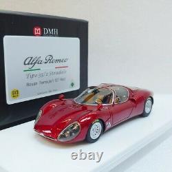 Alfa Romeo Tipo 33/2 Stradale Rosso F1 07 Red DMH 1/43 #DMH43-ALFA-F1R