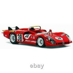 Alfa Romeo Tipo 33/3 #38 24H Le Mans 1970 TRUE SCALE 143 TSM124311 Model