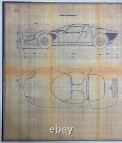 Alfa Romeo Tipo 33 Stradale factory blueprint
