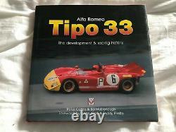 Alfa Romeo Tipo 33 The Development & Racing History Signed by 8 Alfa Drivers