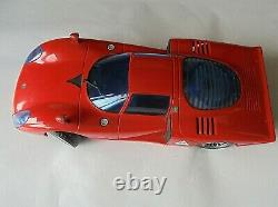 Alfa Romeo Tipo 33 Wegatoys Made in Italy1/12 Scale Plastic Car & Radio Mint