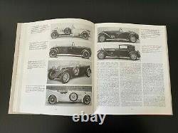 Alfa Romeo Tipo 6C 1500-1750-1900 Car Book 1989