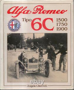 Alfa Romeo Tipo 6C 1500 1750 1900 Cherrett Targa Florio Le Mans Tourist Trophy +