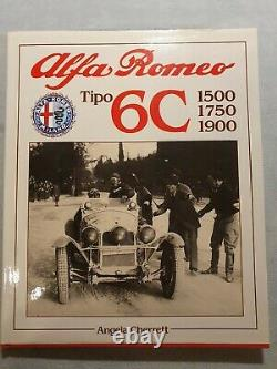 Alfa Romeo Tipo 6C 1500, 1750, 1900 by Angela Cherrett