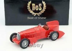 Alfa Romeo Tipo B P3 Aerodinamica Red 118 Bos 066