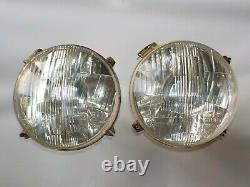 Alfa Romeo Tipo33 Stradale Used Pair CARELLO 7 HEADLIGHTS withIntegral Park Light