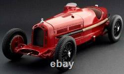 Alfa romeo f1 8c 2300 monza n. 28 winner monaco gp 1932 tazio nuvolari scala 1/12