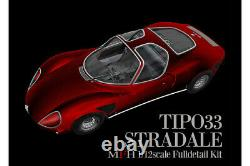 BIG size Model Factory Hiro 1/12 Alfa Romeo Tipo33 Stradale from Japan 4928