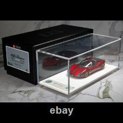 DMH 143 Scale Alfa Romeo Tipo 33 Strada Metal Red Resin Car Model Limited 40pcs