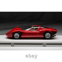 DMH Model 143 Scale Alfa Romeo Tipo33 Stradale Red Resin Car Model Collection