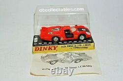 Dinky 210 Alfa Romeo 33 Tipo Le Mans, Mint Condition in Original Box
