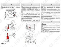 Engine Heater Element DEFA 411422 for FIAT KIA MERCEDES PEUGEOT VOLVO TYPE 422