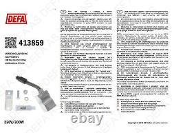 Engine Heater Element DEFA 413859 for ALFA ROMEO FIAT JEEP LANCIA OPEL
