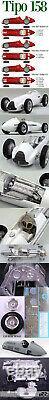Hiro Mfh 1/12 Alfa Romeo Tipo 158 1950 Italian French British Gp Fangio Farnell