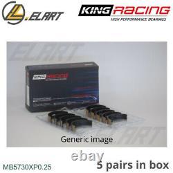 King Racing Main Shell Bearings MB5730XP 0.25 For LIANCIA 2.0 HF INTEGRALE