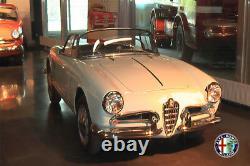 Lastra Pavimento Piano Boden Alfa Romeo 750/101 Giulietta Giulia 54-64 Dx