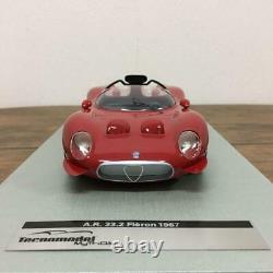 Limited To 80 Units Around The World Techno Model 1/18 Alfa Romeo Tipo 33/2