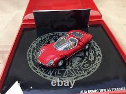 Mini Champs 1/43 1968 Alfa Romeo Tipo33 Stradale