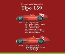 Model Factory Hiro 1/43 Full Detail Multimedia kit Alfa Romeo Tipo 159 (Ver. A)