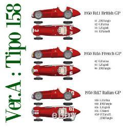 Model Factory Hiro K520 112 Alfa Romeo Tipo159 Fulldetail Kit