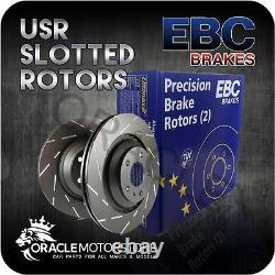 New Ebc Usr Slotted Front Discs Pair Performance Discs Oe Quality Usr286