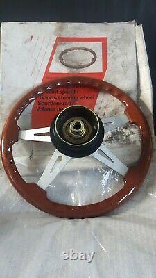 Nos Genuine Fiat Oba Steering Wheel Fiat Tipo Alfa Romeo 155, Lancia Delta