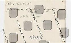 PHOTO Originale 1938 GP TRIPOLI ALFA ROMEO TIPO 312 Farina No Brochure