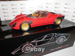 PRE40036 by PREMIUMCLASSIXXS ALFA ROMEO TIPO 33 STRADALE RED 112