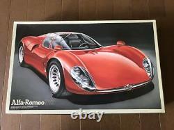 Plastic Model Alfa Romeo Teepo 33 Strardare Tipo33 Fujimi 1/16 Alfaromeo