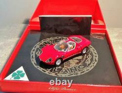 Rare Minichamps 1968 Alfa Romeo Tipo 33 Stradale Presentation Clapper Box 143