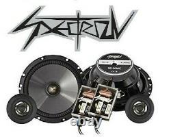 SPECTRON Kit 6 CASSE 16,5cm FIAT 500L 500X TIPO ALFA GIULIETTA MITO LANCIA Y