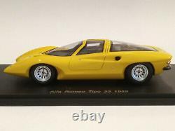 Spark Alfa Romeo Tipo 33 1969 S0618 1/43 Mib