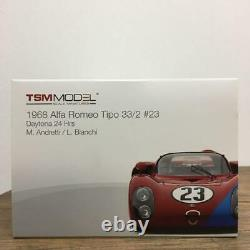 TSM MODEL 1/18 Alfa Romeo tipo 33/2